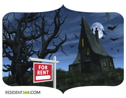 haunted house for rent