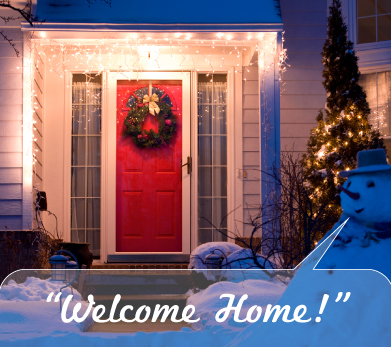 snowman welcome home apartment marketing